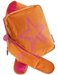 Agatha Ruiz De La Prada Sling-style Girls Backpack - Orange Star 9x12