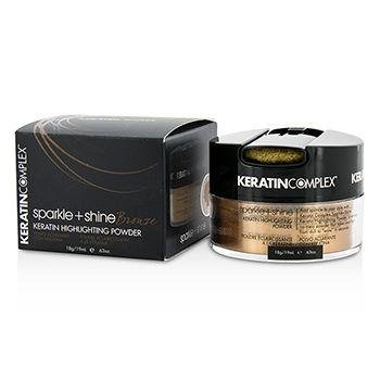 Keratin Complex Sparkle and Shine Highlighting Powder, Bronze, 18 (Highlighting Powder)