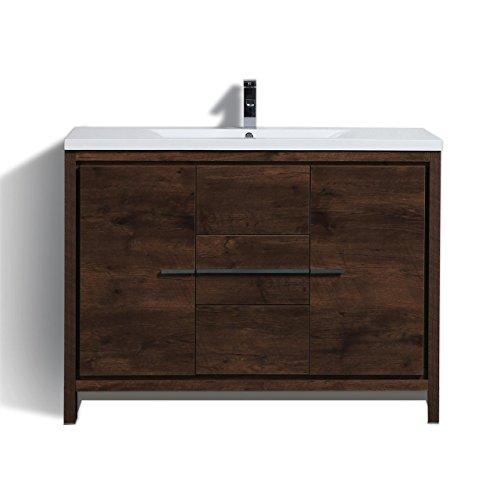 (Copeland Free Standing Modern Bathroom Vanity (48'', Rosewood))