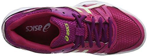 white Gel Violet 7 rocket Asics fuchsia De magenta Volleyball Femme 2501 Chaussures OnzwdxAxq