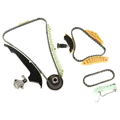 MOCA Timing Chain Kit for 2006-2009 for Audi A3 /& 2004-2009 for Audi TT Quattro /& 2007-2008 Volkswagen Eos 3.2L 3189Cc V6 DOHC