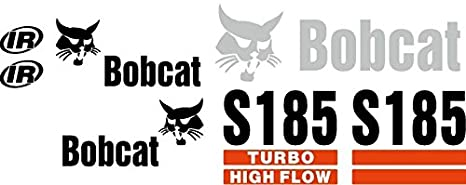 Amazon com: Bobcat S185 Excavator Whole Machine Decal Set
