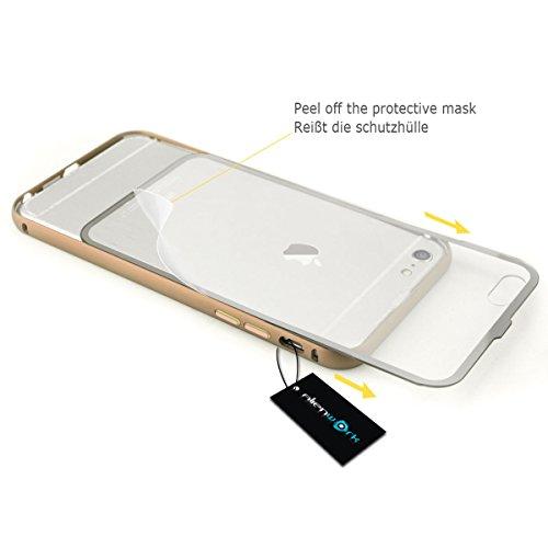 Alienwork Coque pour iPhone 6 or champagne Case Etuis Housse Anti chocs ultra-mince Aluminium or AP632-03
