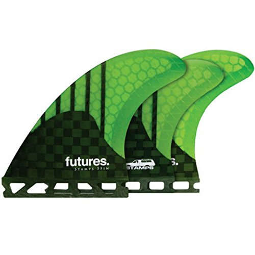 Future Fins Generation Series Stamps 5 Fin V2 Honeycomb Carbon Surfboard Fin Set