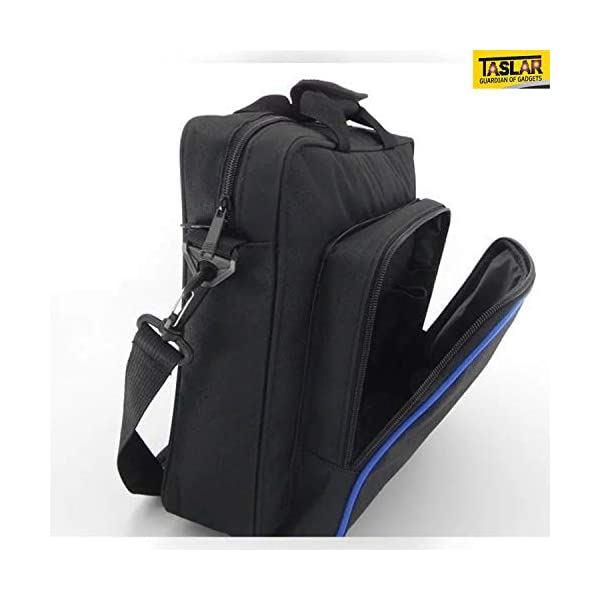 TASLAR Carrying Case Travel Storage Carry Case Protective Shoulder Hand Bag Portable System Console Accessories Compatible with PS4 PlayStation 4 (Black)