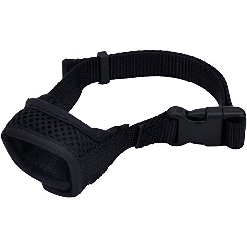 Coastal Pet Products 01360 BLKXSM Best Fit Comfort Dog Muzzle-Snout Size Harnesses, Black, -