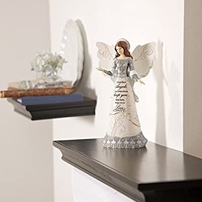 Elements 82310 Guardian Angel Collectible Figurine, Angel with Halo, 9-Inch