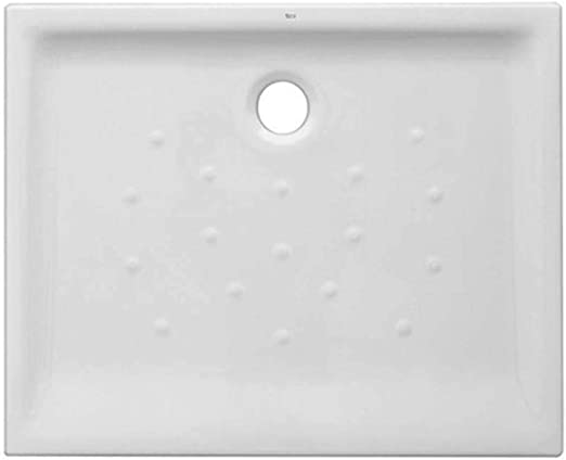 PLATO de ducha cerámico RECTANGULAR ROCA 70 x 120 h. 8: Amazon.es ...