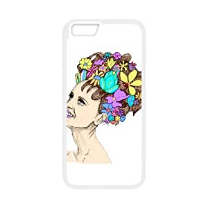 iPhone 6 4.7 Inch Cell Phone Case White HAIR GARDEN LSO7707859