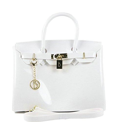 Kyokim New Beach Bag Jelly Bag Large Capacity Ladies White Pvc Material