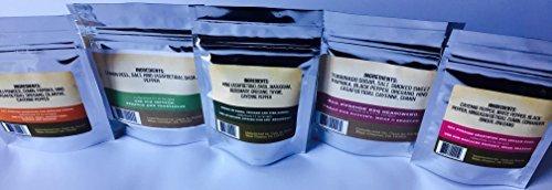 Casa de Sante Low FODMAP Spice Mixes - No Onion No Garlic FODMAP Friendly Certified Artisan Onion and Garlic Substitute Seasonings, Paleo, Starter 5 Pack by Casa de Sante (Image #3)