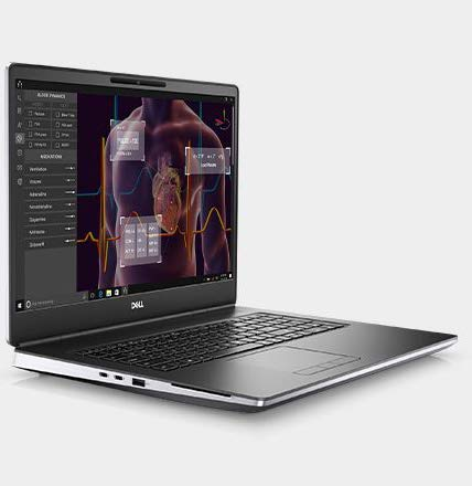 "CUK Precision 7550 by Dell 15 inch Mobile Workstation Laptop (Intel Xeon W, 128GB RAM, 3x2TB NVMe SSD, NVIDIA Quadro RTX 5000 16GB, 15.6"" 4K UHD, Windows 10 Pro) Professional Notebook Computer"