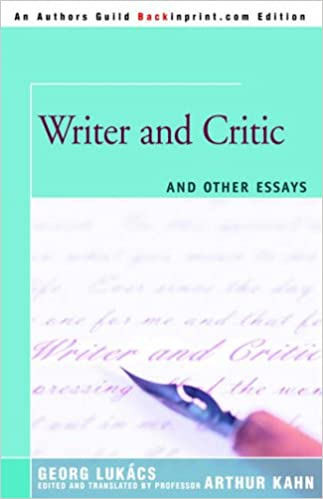 Book Writer and Critic: and Other Essays