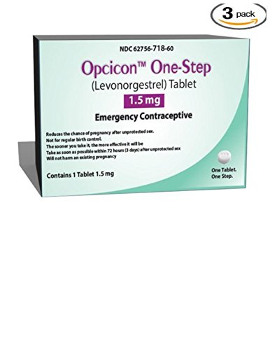 Opcicon One-step (Generic Plan B) 3 Pack by Opcicon
