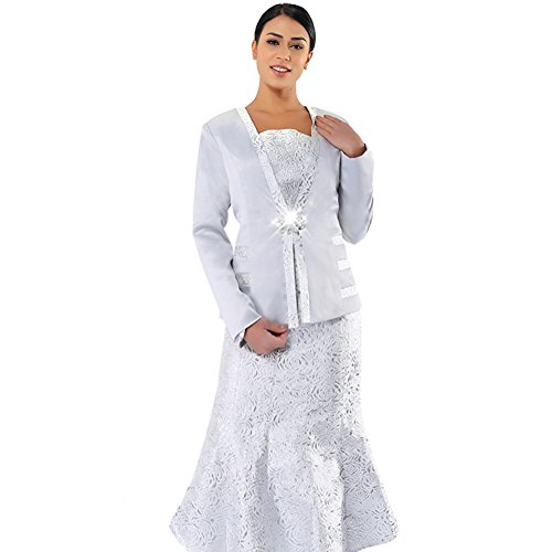 Kueeni Women Church Suits With Hats Church Dress Suit For Ladies Formal Church Clothes,Suits Only,020 by Kueeni (Image #6)