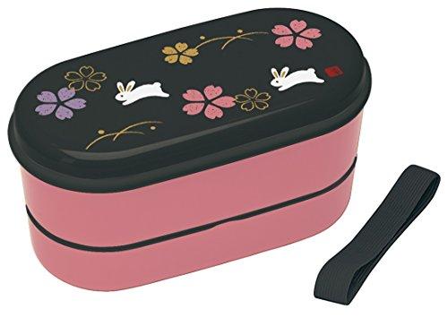 lunch-box-chopsticks-lunch-belt-set-630ml-cherry-blossoms-sakura-bouncing-rabbit