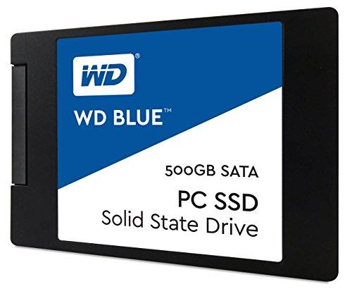 WD Blue SATA 6Gb/s 2.5 Inch 500GB Internal SSD Solid State Drive (WDS500G1B0A) by Western Digital (Image #1)