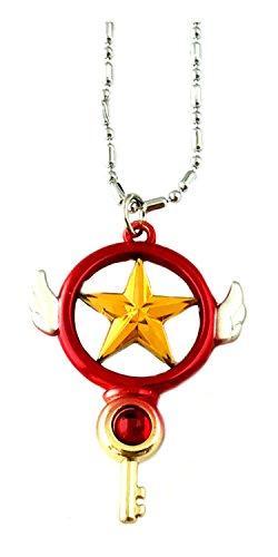 Cardcaptor Sakura Pendant Necklace Anime Manga TV Comics Movies Cartoon Superhero Theme Premium Quality Detailed Cosplay Jewelry Gift Series