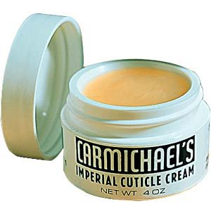 Carmichael's Imperial Cuticle Cream - Fingernail and Toe Nail Strengthener and Moisturizer Treatment - 0.4 Ounces