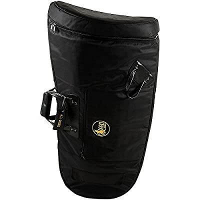 Gard Mid-Suspension Kaiser Tuba Gig Bag 65-MSK Black Synthetic w/ Leather Trim by Gard