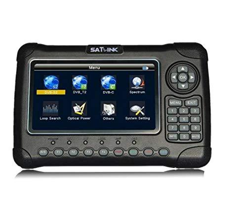 satlink ws-6980 Digital Satellite TV Finder Meter تشخیص نوری طیف سنج ماهواره ای