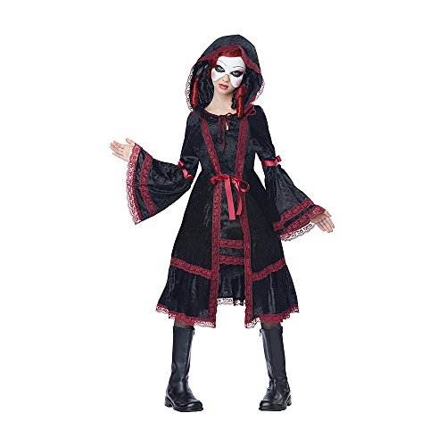 Costume Vintage Doll (Totally Ghoul Vintage Doll Costume, Girl's Size X- Large, Ages)