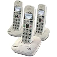 CLARITY 59467.000 D702 + 2 D702HS / Amplifying incoming sound up to 30 decibels / CLARITY-D702C2 /