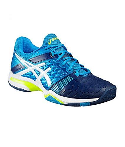 ASICS Gel Blast 7 Men's Indoor Shoes Blue/White/Yellow – DiZiSports Store