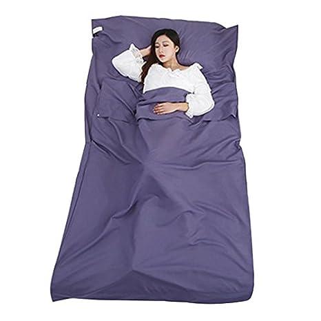 flintronic Saco de Dormir, Sábana para Sacos de Dormir Ultraligero Bolsa de Dormir Liner Portatil