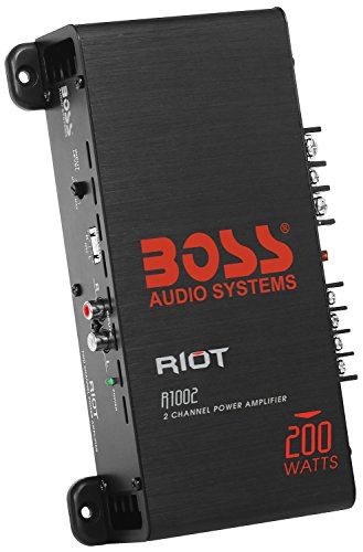 BOSS Audio R1002 - Riot 200 Watt, 2 Channel, 2/4 Ohm Stable