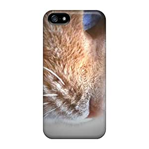 New DcTyteE3479ZkOAg Profile Of A Cat Tpu Cover Case For Iphone 5/5s