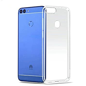 Funda Huawei P Smart, Lanseed Carcasa P Smart TPU Funda Anti-Rasguño Anti-Golpes Cover Protectora TPU Caso Bumper Slim Silicona Case Para Huwei P ...
