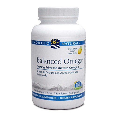 Omega Combination - Nordic Naturals - Balanced Omega Combination 180 gels [Health and Beauty]