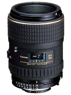 Tokina マクロレンズ AT-X M100 PRO D 100mm F2.8 MACRO ニコン用 フィルム/デジタル一眼対応 単品  B000CMNL52