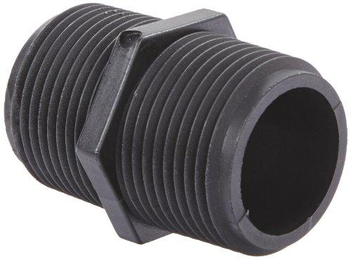 Banjo NIP100-SH Polypropylene Pipe Fitting, Short Nipple, Schedule 80, 1