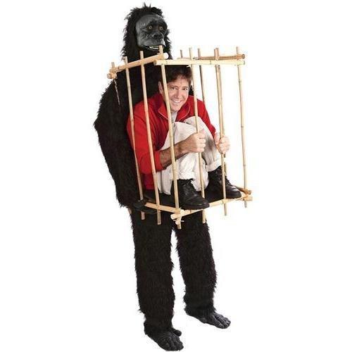 Man In Cage Gorilla Costume (Morris Costumes VA1001 Get Me Outta This)