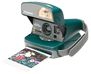 Polaroid One-Step Express Hunter Green Instant Camera Kit (includes Camera Bag and 600 Film)