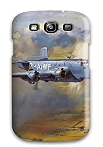 High Quality IORAXTc5847LHkSf Aircraft Tpu Case For Galaxy S3 With Free Screen Protector