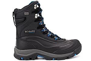 Columbia Men's Bugaboot Plus III Titanium Omni-Heat 10.5 Black/Hyper Blue