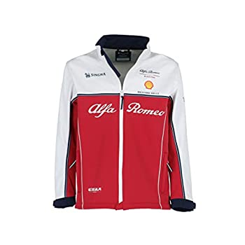 Image of Alfa Romeo Racing F1 2019 Men's Team Softshell Jacket Jackets