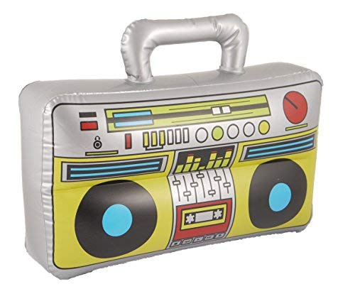 (Henbrandt Inflatable/Novelty Blow Up Boom Box Music Player Fancy Dress Prop 37 x)