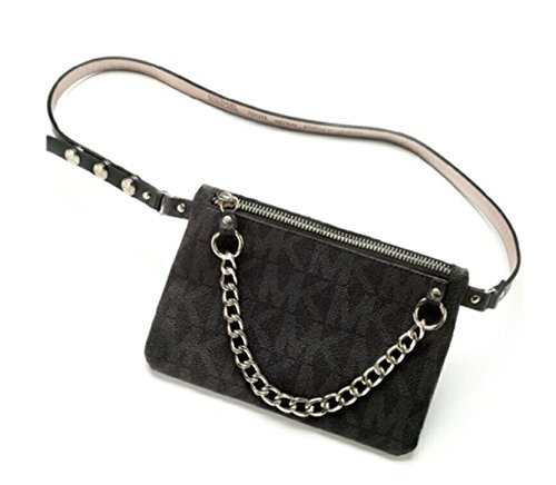 9a7725b2dee8 Michael Kors MK Fanny Pack Belt With Pull Chain