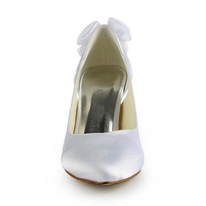 Donna Jia Wedding 8390b6 Scarpe Sposa Col Tacco
