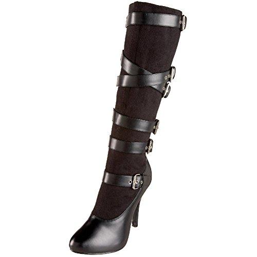 (Funtasma ARENA-2030 womens Black Microfiber-Polyurethane Boots Size - 6)
