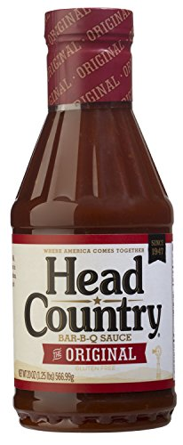 Head Country Bar-B-Q Sauce, Original, 20 Ounce