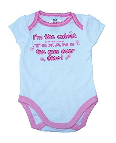 【メーカー再生品】 I ' – m The Onesieサイズ3 Cutest Houston Texansファン幼児Girl 's Cutest Onesieサイズ3 – 6ヶ月ボディースーツ – ピンク&ホワイトクリーパー B07229NTVX, 高砂 良品企画工房:8f5b6436 --- a0267596.xsph.ru