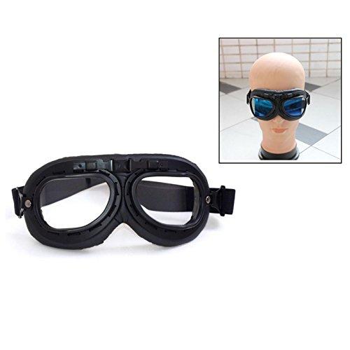 Itian Motorradbrille Schutzbrille,Pilot Biker Cruiser Pilot Fliegerbrille Motocross Cruisers Sun UV Wind Auge schützen…