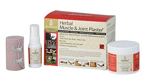 - Jadience Severe Joint Pain Relief Kit: Dit Da Jow Formulas Penetrate Deep for Serious Muscle, Joint & Nerve Pain | 2 Natural Herbal Plasters, 1oz Body Pain Reliever Spray, Gauze, Tape & Bandage Wrap