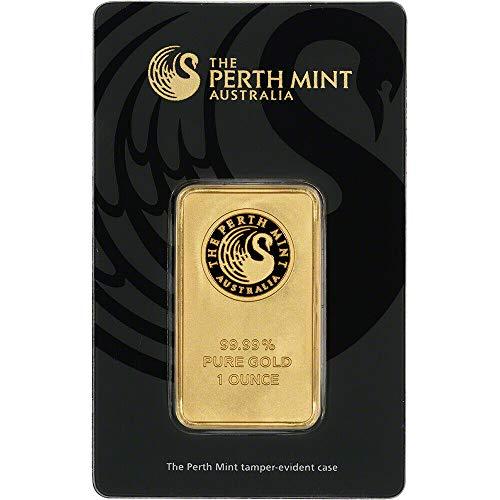 - ♚Perth Mint Australia♚ Perth Mint 1 oz Gold Bar Sealed with Assay Certification ♚ 99.99 Fine Gold Bullion