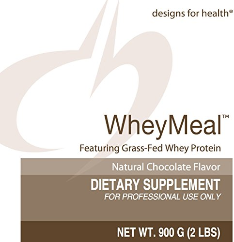 Designs for Health - WheyMeal Chocolate (Formerly PaleoMeal) - Grass Fed Whey Protein, 900 Grams by designs for health (Image #1)